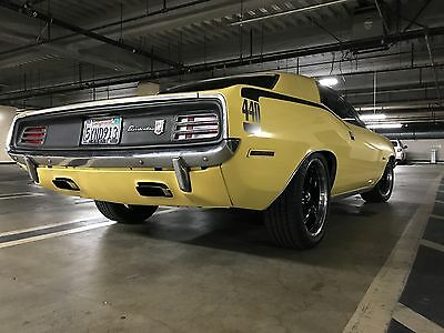 1970 Plymouth Barracuda Gran Coupe 440 CUDA GRAN COUPE / 1970 PLYMOUTH BARRACUDA