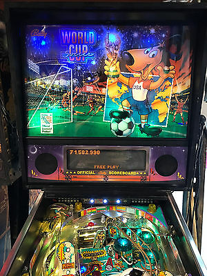 World Cup Soccer Pinball Machine Leds Added Pinballking