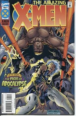 Amazing X-Men (1995 Series) #4 June 1995 Marvel NM- 9.2