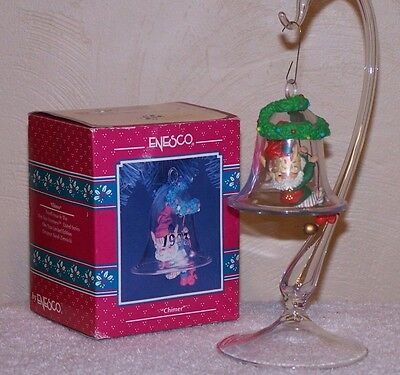 1993 Enesco Ornament  Chimer 4th Issue In Wee Tree Trimmers Series