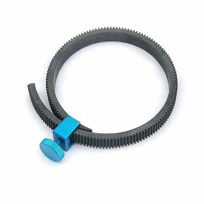 Fotasy GGU Rubber Flexible Gearbelt for 15mm Rod DSLR Follow Focus (Blue) - NEW