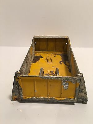 Smith Miller Mack Yellow Truck Dump Bed With Tailgate For Restoration.