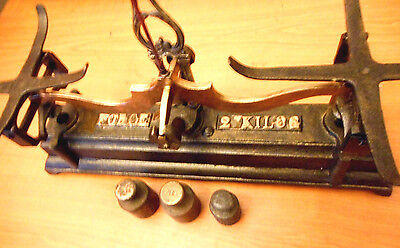 Antique kitchen scales Made in the 30s