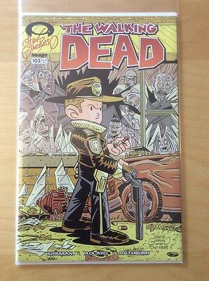 Walking Dead 103, High Grade, 1St Print, Variant Signed Giarrusso, Coa, 1:50