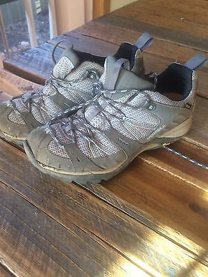 Merrell Hiking Shoes Boots Camping US 7.5 Vibram