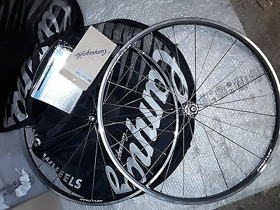 """CAMPAGNOLO PROTON 28"""" 700C NEW boxed road wheelset ruote strada for record group"""