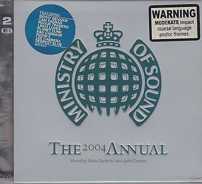 Ministry Of Sound- The 2004 Annual - Brand New And Sealed 2Cd