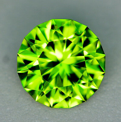 CUSTOM CUT 8.4mm  - 2.22ct - PERIDOT - PAKISTAN