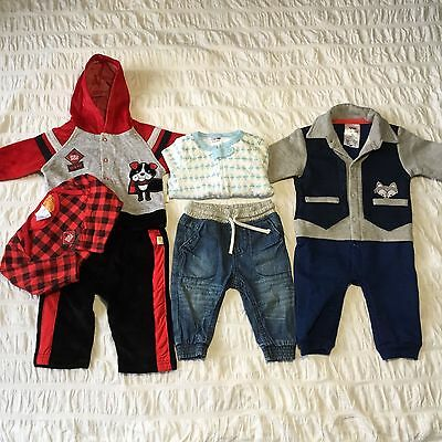 Baby Boys Tracksuit Jeans 2 x Jumpsuit 3-6months Size 00 Mixed Lot Never Worn