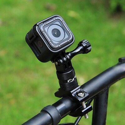 PULUZ 360 º Rotation Bicycle Aluminum Handlebar Adapter Mount+Screw for GoPro