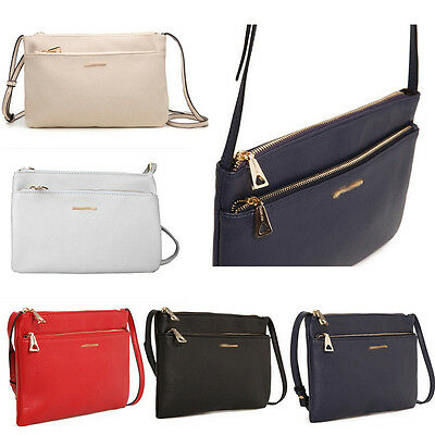 New Fashion Women Leather Satchel Handbag Shoulder Tote Messenger Crossbody Bag