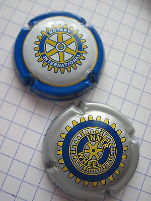 "capsules de champagne Pierre MIGNON "" rotary + inner wheel "" N° 61 + 51A"