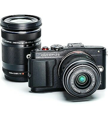 MASSIVE BARGAIN! Olympus Pen E-PL6 Camera  Brand New Black with 2 Lenses
