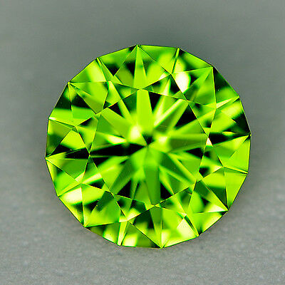 CUSTOM CUT 8mm  - 1.92ct - PERIDOT - PAKISTAN