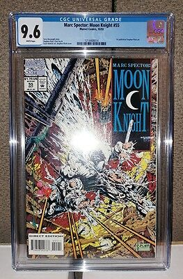 Moon Knight #55 - CGC 9.6 White Pages - Stephen Platt Art - Brand New