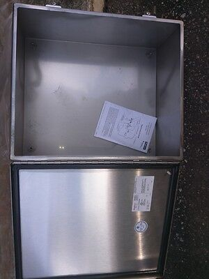 Hoffman A1412Chnfss Stainless Steel Jic Junction Box Type 3R,4,4X, 12