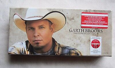 Garth Brooks The Ultimate Collection 10 CD Box Set ~ New, Sealed ~  Free Ship ~