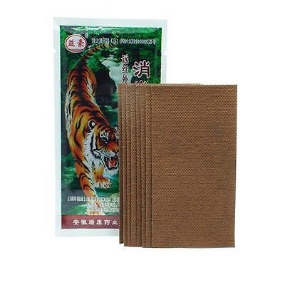 Tiger Balm Plaster Patch - Warm- 4 Patches 7cm x 10cm for muscular pain S K0