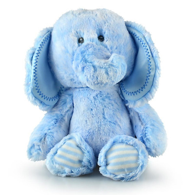 Snuggy Elephant - Blue (30cm) Soft Plush Toy NEW