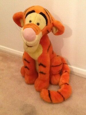 "DISNEY WInnie The Pooh 20"" LargeTigger From Disney Store 1990's"
