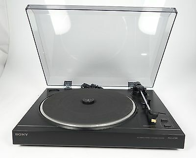 Sony Ps-Lx100 Belt Drive Turntable Plattenspieler Automatic Stereo +++