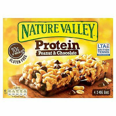 **** Nature Valley Protein Peanut Butter & Chocolate Cereal Bars 16 x 40g