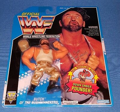 WWF Butch of the BUSHWHACKERS Hasbro Vintage OVP sealed
