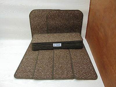 Carpet Stair pads  treads 60cm x 20 cm14 off and 76 cm x 46 cm 2 Big Mats 2149-3