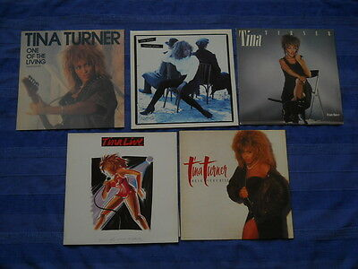 Tina Turner Break Every Rule Private Dancer Foreign Affair One living Live - LP