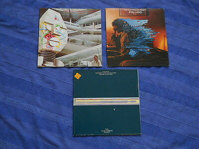 3 x Alan Parsons Project: Pyramid + I Robot + Mystery and Imagination