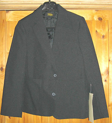 NEW 20 x Boys School Blazer Size 5 Black Chest 28""