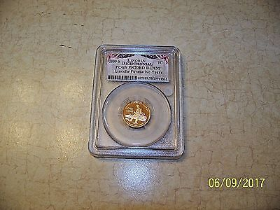 2009 S 1C Lincoln Formative Years Cent Pcgs Pr 70 Dcam