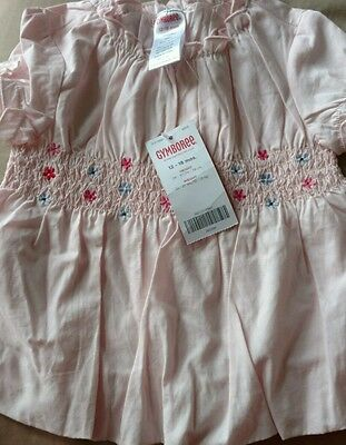 New W/ Tags Gymboree Baby Girl Pink Blouse 12-18M - $21.95
