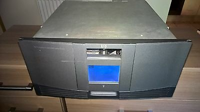 HP StorageWorks MSL 5000 with 2 x LTO 1  tape drives