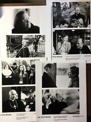 1990 Movie Studio Photos The Third Miracle SONY Ed Harris HECHE Scorsone CHURCH