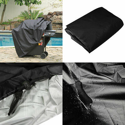 Outdoor BBQ Barbecue Cover Waterproof Garden Wagon Grill Protector Rain UV Dust