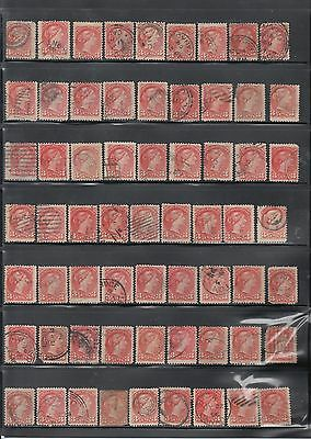 Used Canadian #41 Lot #3 Over 100 Stamps