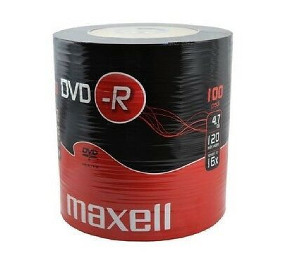 100 DVD-R Vierge Maxell Spindle