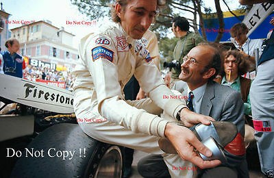 Jo Siffert BRM F1 Portrait Monaco Grand Prix 1971 Photograph 2