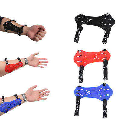 Adjustable Archery Hunting Silica Gel Arm Guard Soft Protector Gear Safe Rubber
