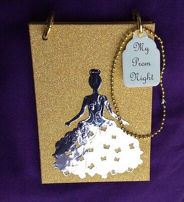 Prom Book. Personalised & Cute! Handbag Size with Carrying Handle. A6 Size.