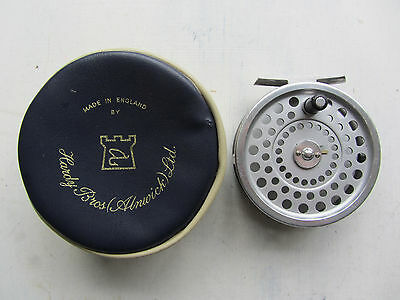 Hardy Marquis 3 5/8ins. #8/9 Fly Reel with Original Hardy Zip Case