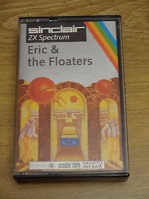 Eric And The Floaters for the ZX Spectrum 48k. Tested and Working.
