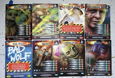 Doctor Who Battles in Time Super Rare Cards lot