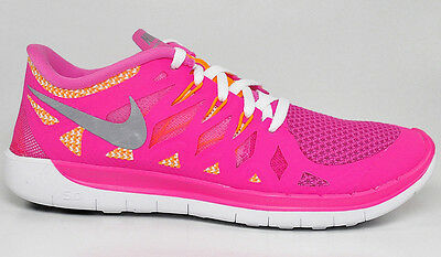 newest b7f8f 24fd2 Nike Free 5.0 Gs Shoes Girl s (644446 600) 100% Authentic Size 4.5Y