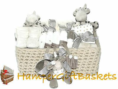 "Baby Gift Basket/Hamper, Baby Boy, Baby Girl, Baby Shower,Baby Gift ""Elli"""
