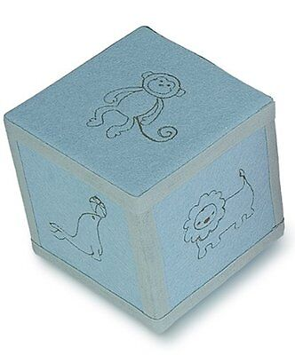 Tree By Kerri Lee Embroidered Felt Music Box Block Turquoise, New