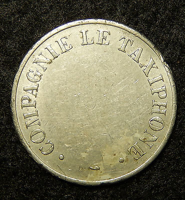 Vintage Compagnie le Taxiphone Token Coin  SB3662