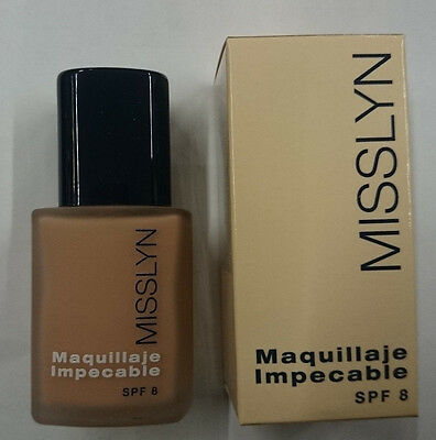 Misslyn Maquillaje Impecable 101 Spf-8 30Ml.