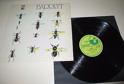 Syd Barrett - Barrett - Harvest Uk 1970 A1/b1 Laminated Sleeve Orig 1St Press